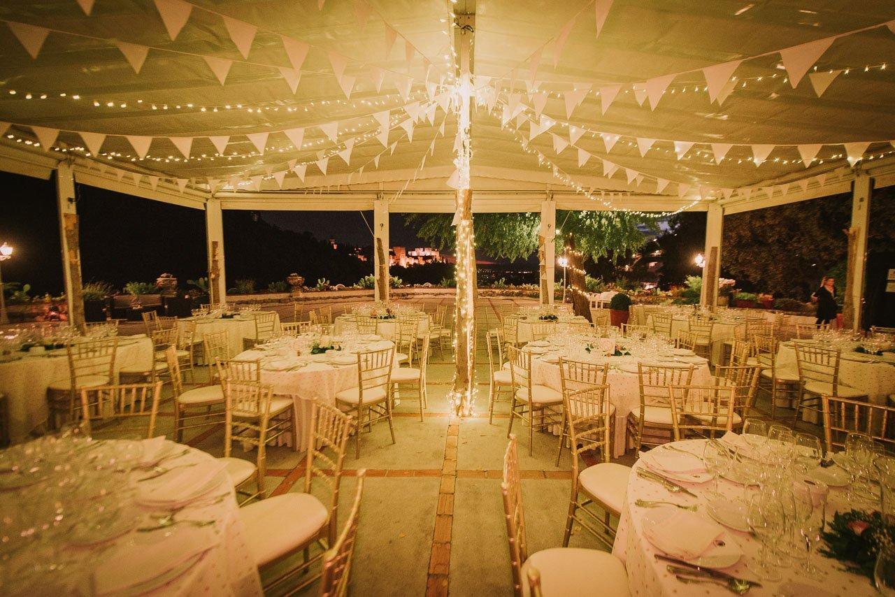 boda con vistas a la Alahambra