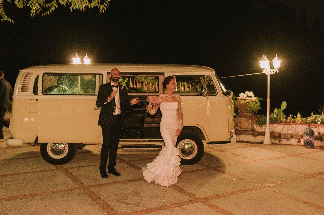 boda con volkswagen T1