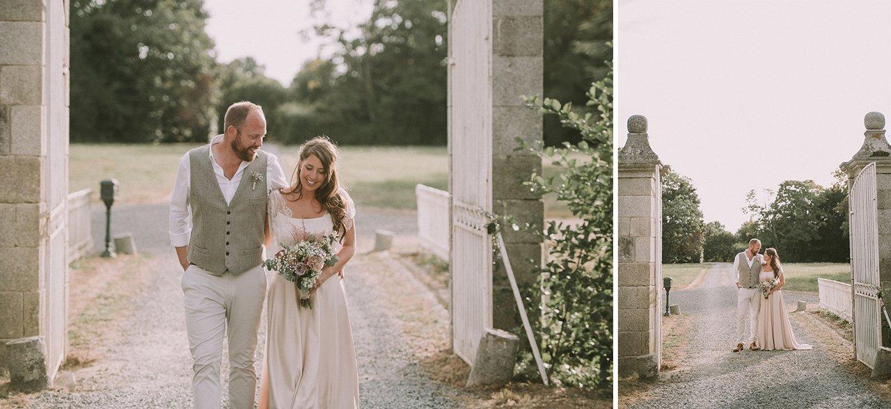Wedding photography in the Chateau de la Motte Husson. Destination wedding photographer