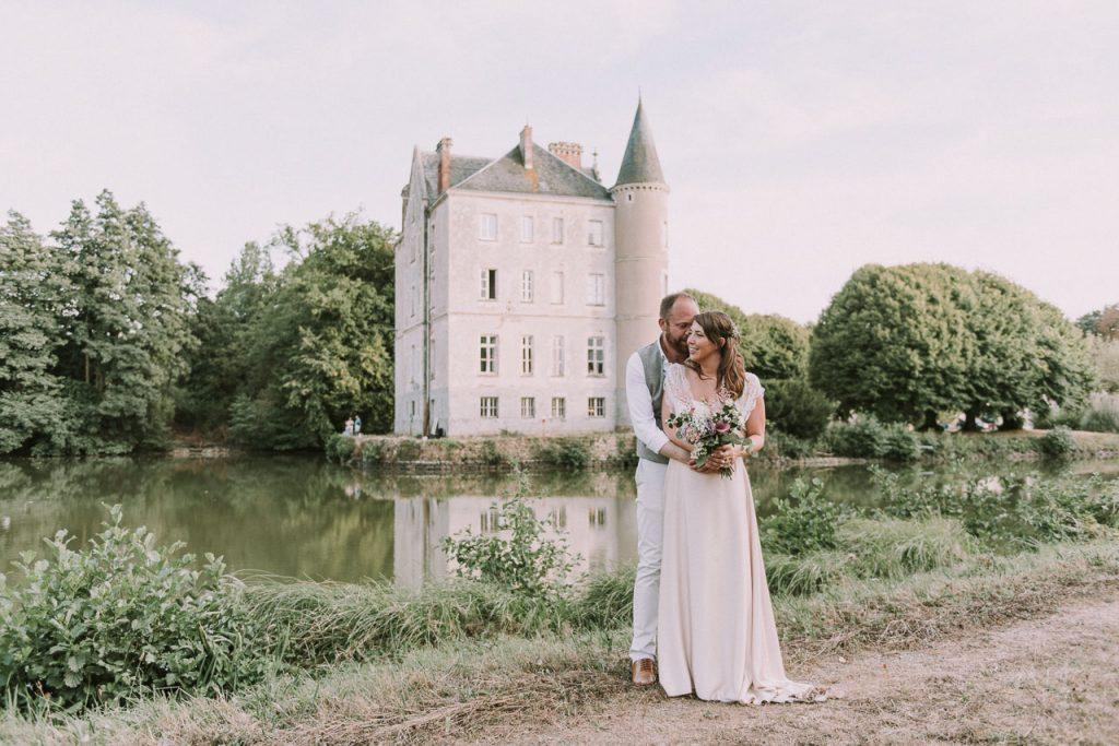 Boda en el chateau de la Motte Husson