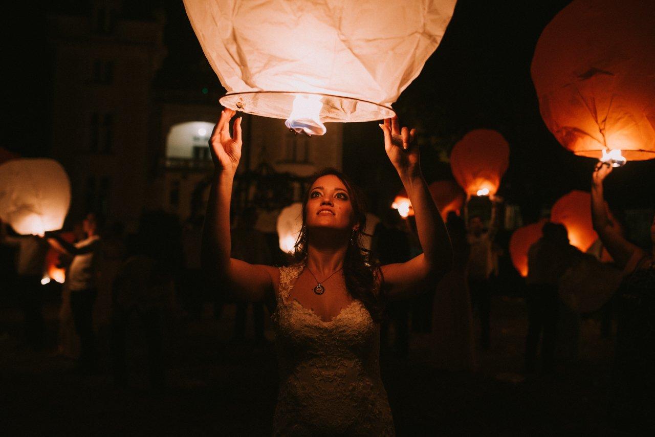 Globos de Kantoné en una boda. Fotógrafos de bodas en Girona