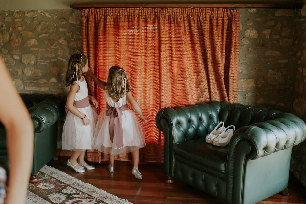 vestido de boda para niña