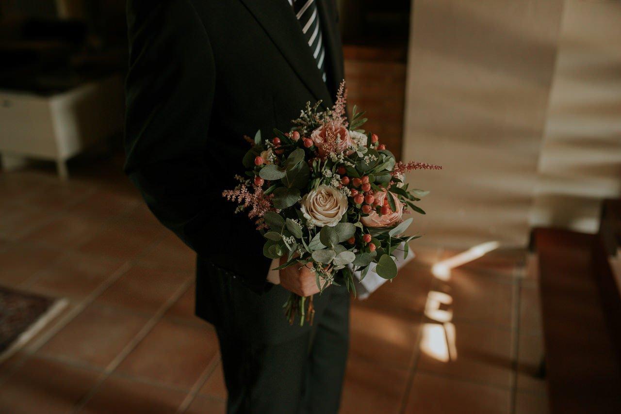 ramo de novia en Mas Terrats