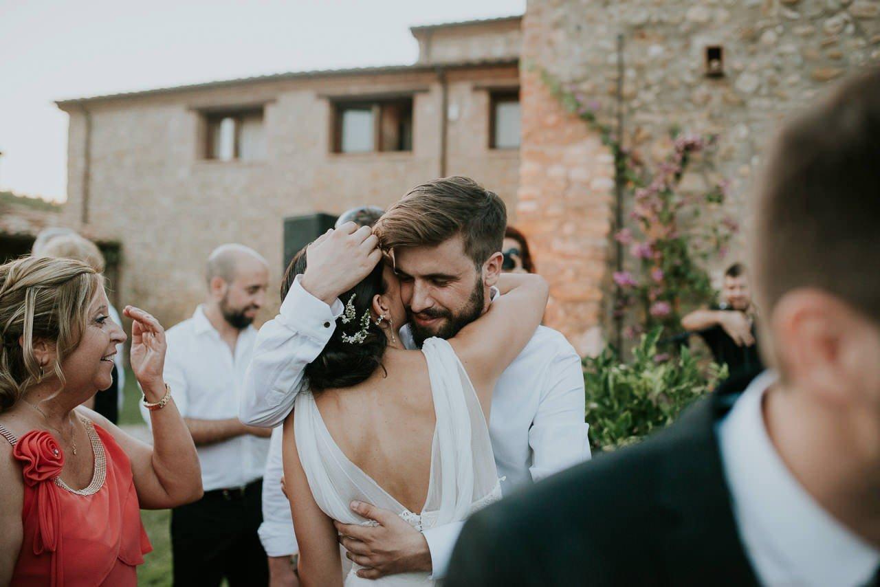 boda en exterior en Mas Terrats