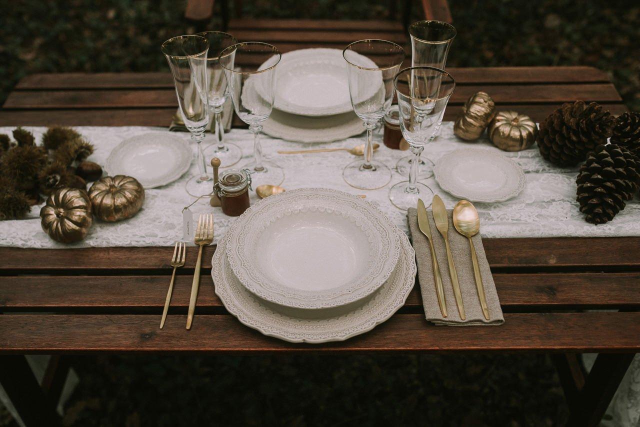 Inspiración para la decoración de una mesa con Cañigueral