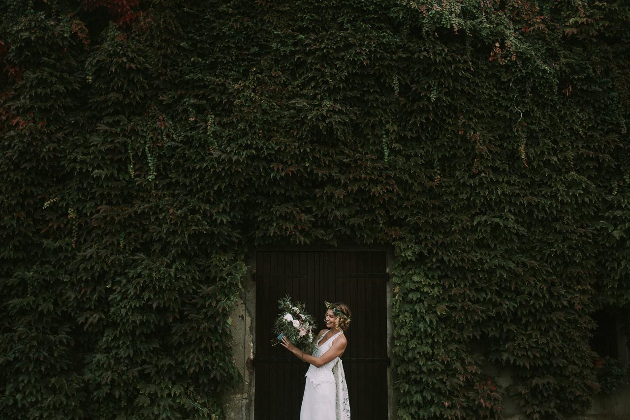 Fotógrafos de bodas divertidas en Girona