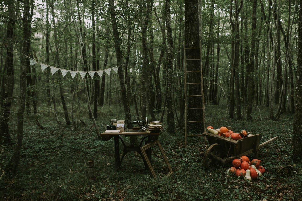 Decoración para bodas sencillas