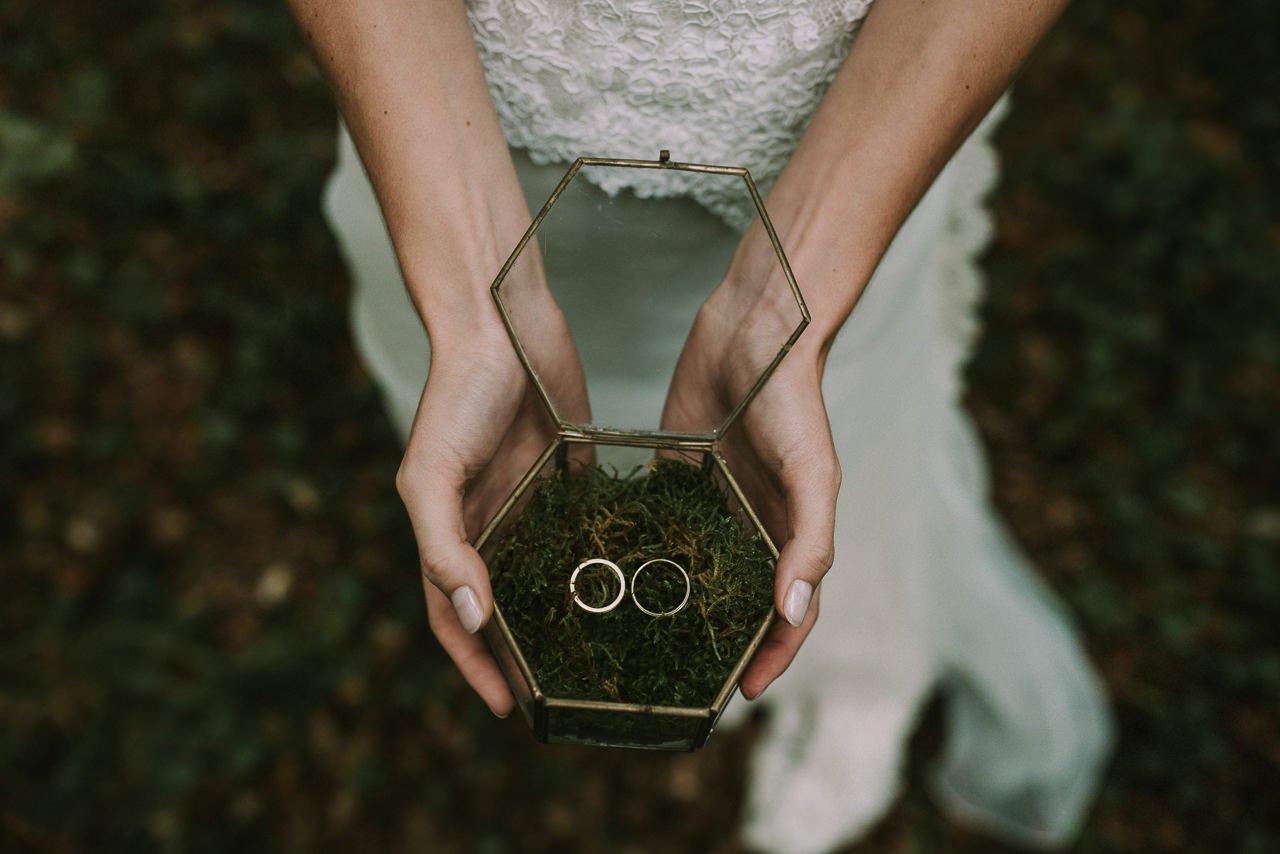 Formas de llevar los anillos el día de tu boda