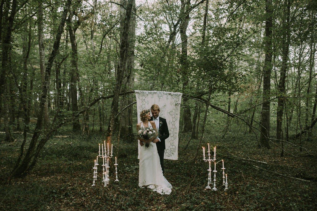 Ideas de decoración de atrezzo para bodas civíles