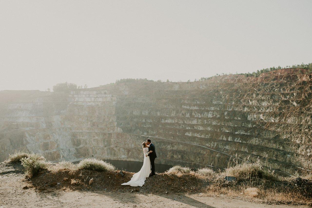 Fotógrafo de bodas. Postboda en Rio Tinto