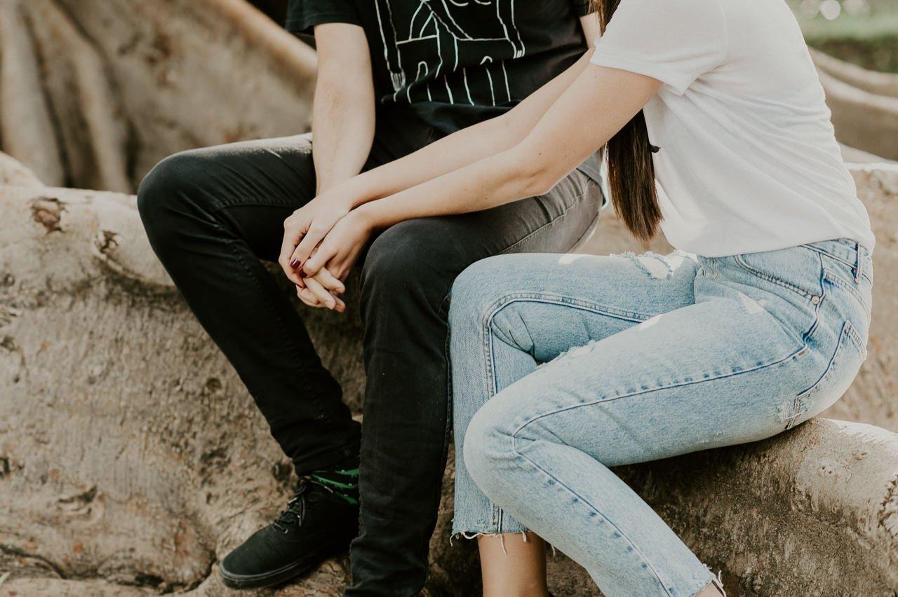 Momentos espontáneos de parejas