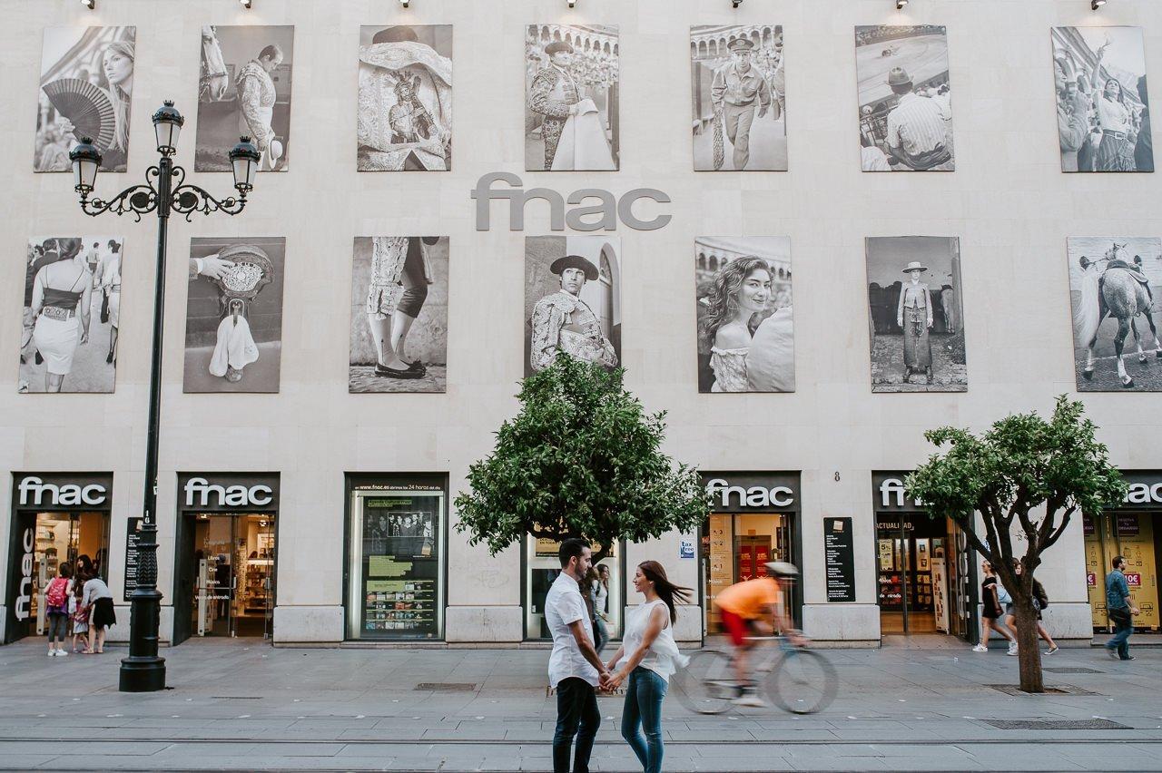 Fotografía de prebodas en Sevilla