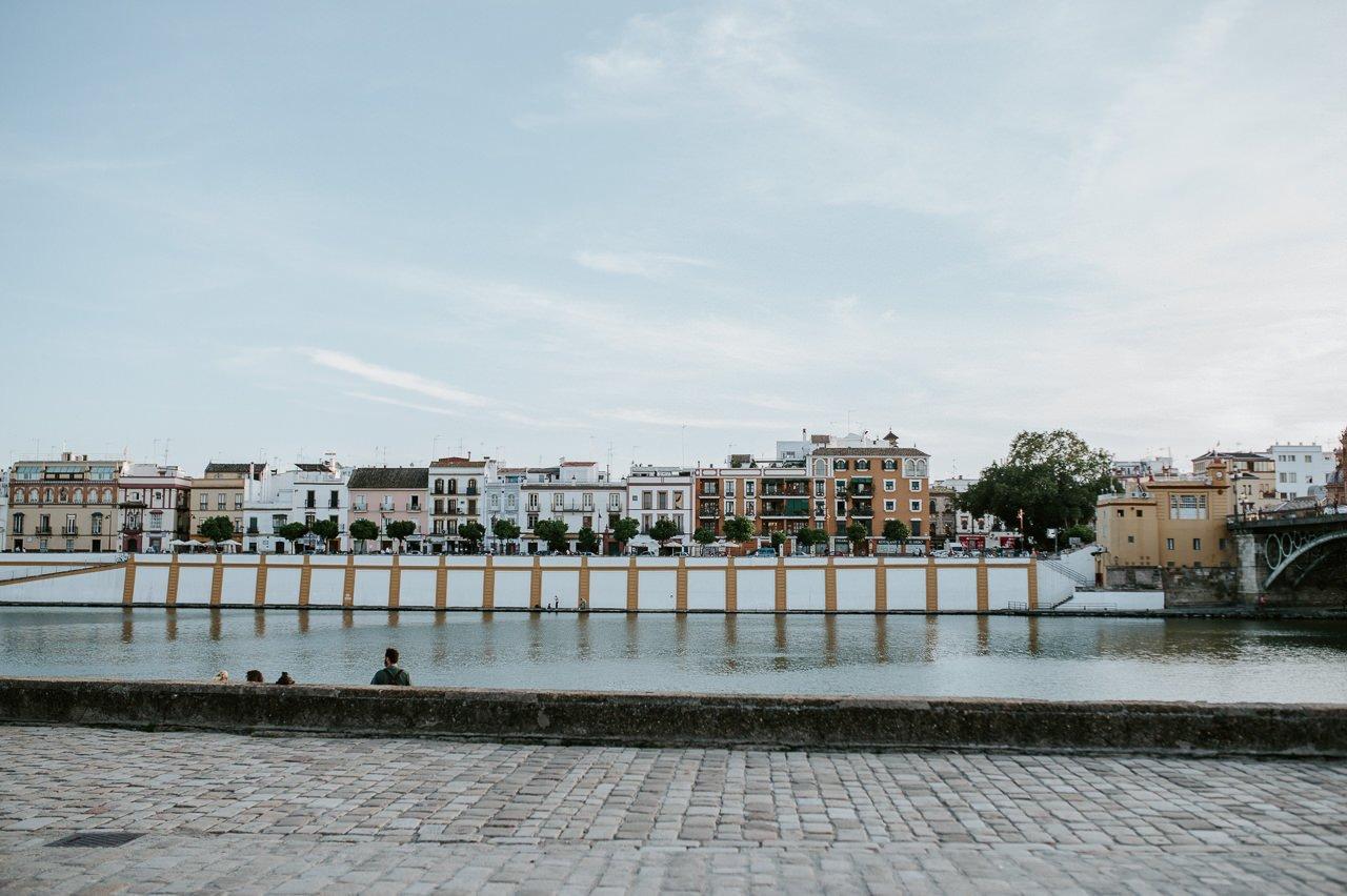 Calle betis de Sevilla