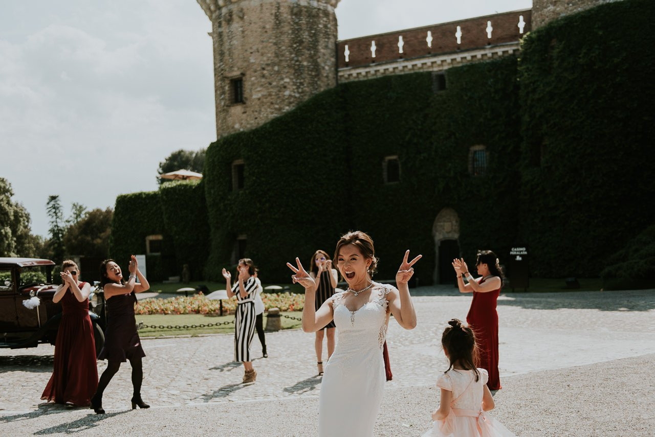 wedding in Castell de Peralada