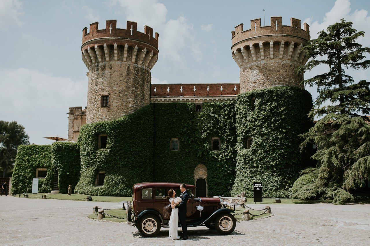 wedding photographer in Castell de Peralada