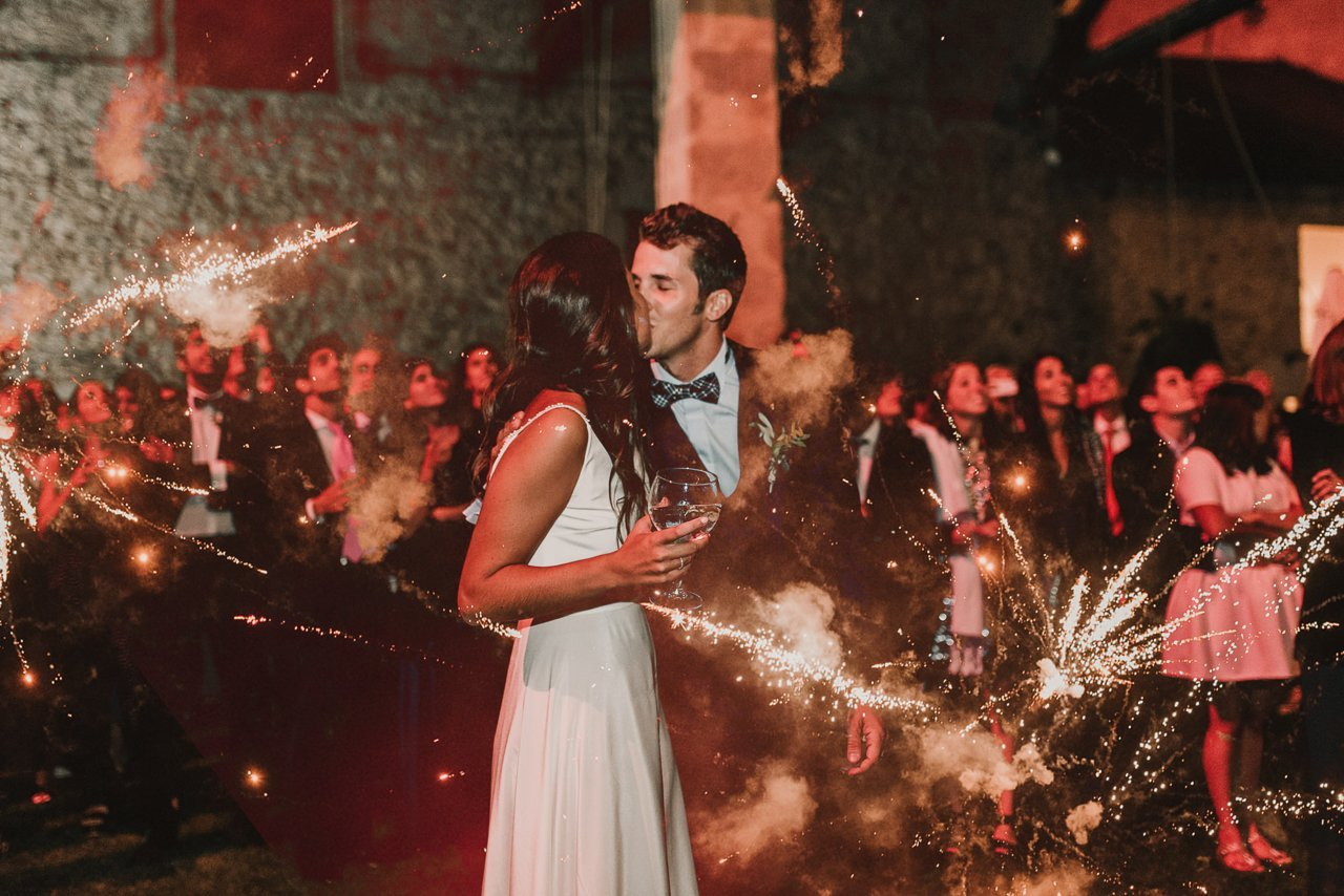 boda campestre en Puigcerda