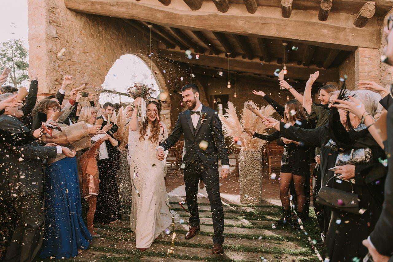boda en el Molí de l'Escala