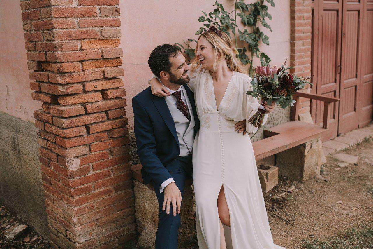 Fotografía de una boda en la Roureda